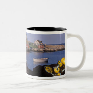 North America, Canada, Nova Scotia, Peggy's Two-Tone Coffee Mug