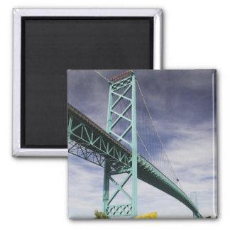 North America, CANADA, Ontario, Windsor: The 2 Inch Square Magnet
