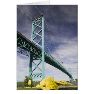 North America, CANADA, Ontario, Windsor: The Greeting Card
