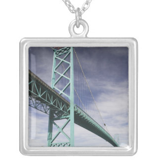 North America, CANADA, Ontario, Windsor: The Silver Plated Necklace