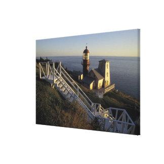 North America, Canada, Quebec, Gaspe Peninsula 2 Canvas Print