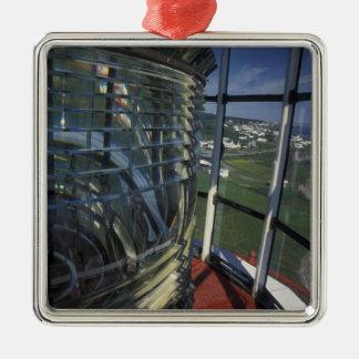 North America, Canada, Quebec, Gaspe Peninsula Metal Ornament