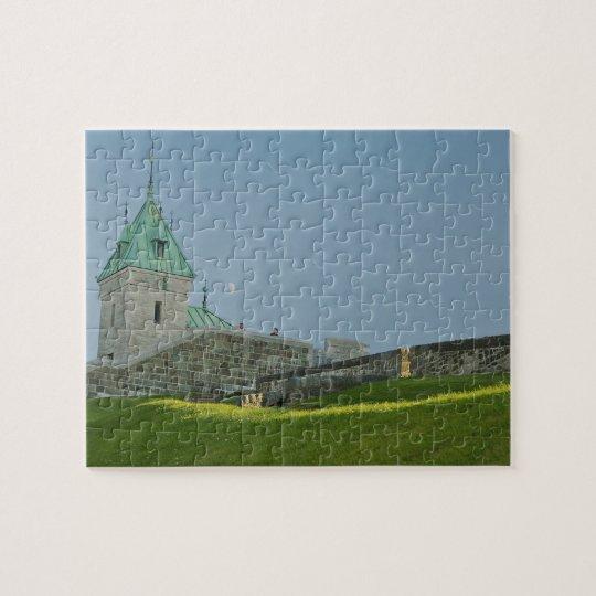 North America, Canada, Quebec, Old Quebec City. 2 Jigsaw Puzzle