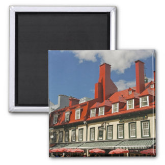 North America, Canada, Quebec, Old Quebec City. 3 Magnet