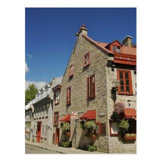 North America, Canada, Quebec, Old Quebec City. Postcard