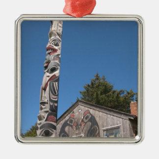 North America Canada Queen Charlotte Islands 3 Christmas Tree Ornament