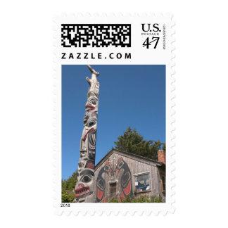 North America, Canada, Queen Charlotte Islands, 3 Stamp