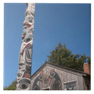 North America, Canada, Queen Charlotte Islands, 3 Ceramic Tile