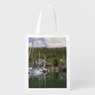 North America, Canada, Queen Charlotte Islands, 4 Grocery Bag