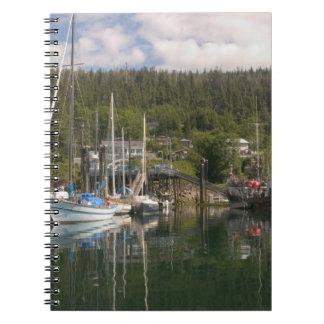 North America, Canada, Queen Charlotte Islands, 4 Notebook