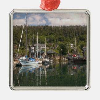 North America Canada Queen Charlotte Islands 4 Christmas Ornament