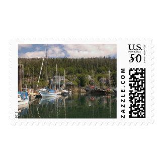 North America, Canada, Queen Charlotte Islands, 4 Postage
