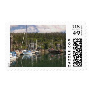 North America, Canada, Queen Charlotte Islands, 4 Postage Stamp