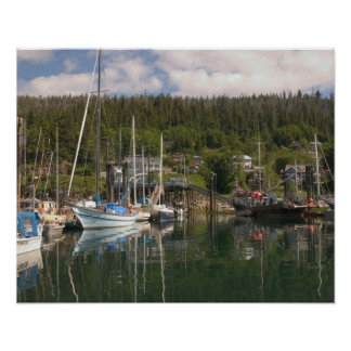 North America, Canada, Queen Charlotte Islands, 4 Poster