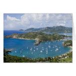 North America, Caribbean, Antigua. English Greeting Card