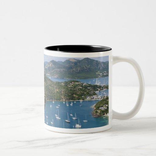 North America, Caribbean, Antigua. English Coffee Mugs
