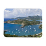 North America, Caribbean, Antigua. English Rectangle Magnets