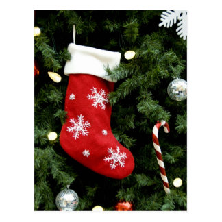 North America. Christmas decorations on tree. 3 Postcard