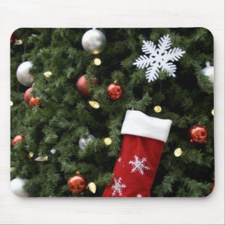 North America. Christmas decorations on tree. 5 Mouse Pad