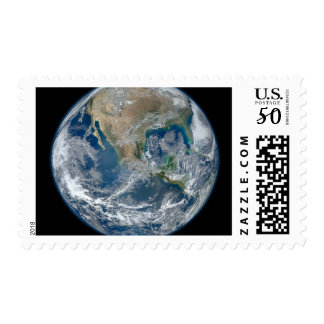 North America from low orbiting satellite Postage