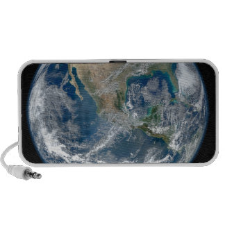 North_America_from_low_orbiting_satellite_Suomi_NP iPod Speakers