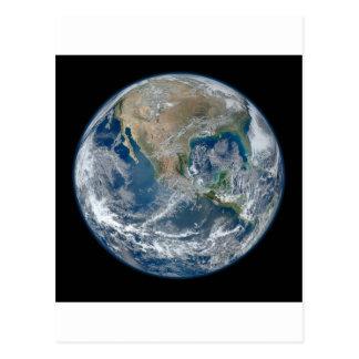 North_America_from_low_orbiting_satellite_Suomi_NP Tarjeta Postal