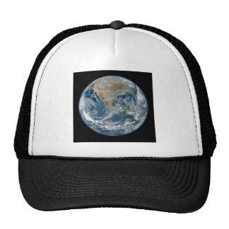North_America_from_low_orbiting_satellite_Suomi_NP Trucker Hat