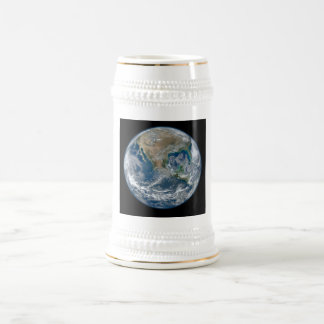 North America from Space Beer Stein