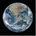 North America from Space Photo Cut Out