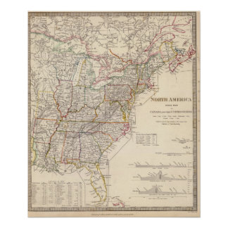 North America index map Poster