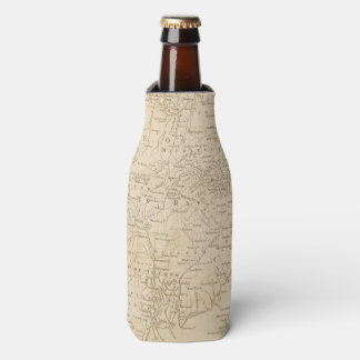North America Map 1775 - War Survey Bottle Cooler
