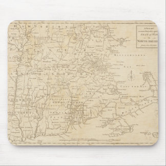 North America Map 1775 - War Survey Mouse Pad