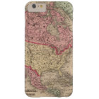 North America Map by Mitchell Barely There iPhone 6 Plus Case
