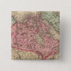 North America Map by Mitchell Pinback Button