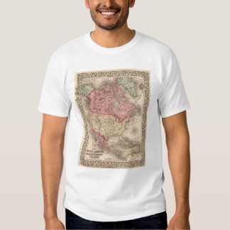 North America Map by Mitchell Shirt