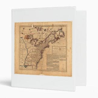 North America Map by Robert Sayer Feb 10th 1763 Binder