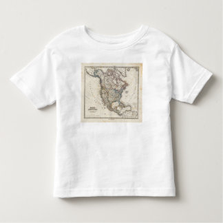 North America Map by Stieler Toddler T-shirt