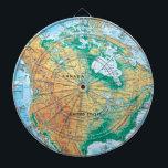 """North America Map Dartboard<br><div class=""""desc"""">North America Map</div>"""