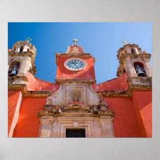 North America, Mexico, Guanajuato. Shrine of Poster