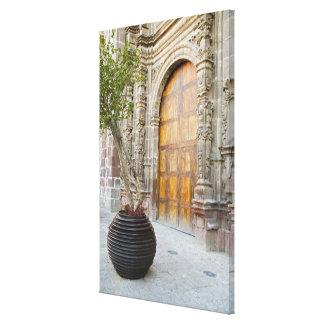 North America, Mexico, Guanajuato state, San 3 Canvas Print