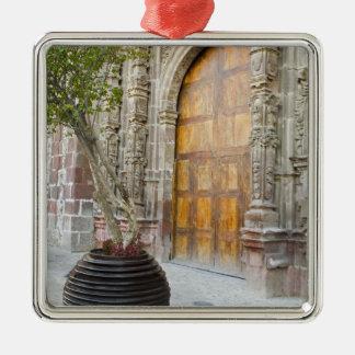 North America, Mexico, Guanajuato state, San 3 Metal Ornament