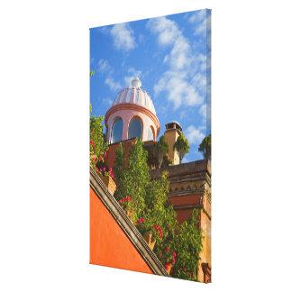 North America, Mexico, Guanajuato state, San 4 Canvas Print