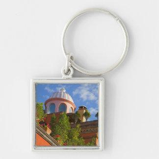 North America, Mexico, Guanajuato state, San 4 Keychain