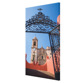 North America, Mexico, Guanajuato State. The Canvas Print