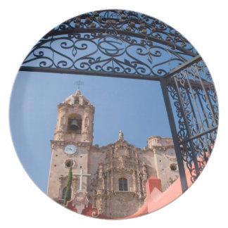 North America, Mexico, Guanajuato State. The Plate