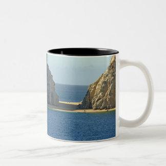 North America, Mexico, State of Baja California Two-Tone Coffee Mug