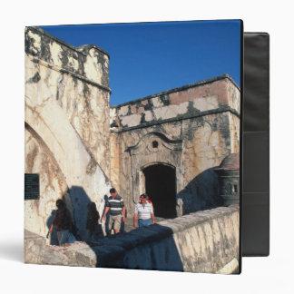 North America, Mexico, Veracruz. San Juan Ulua Vinyl Binder