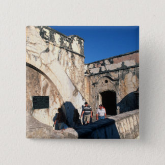North America, Mexico, Veracruz. San Juan Ulua Pinback Button