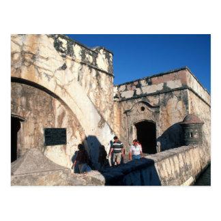 North America, Mexico, Veracruz. San Juan Ulua Postcard
