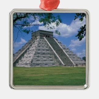 North America, Mexico, Yucatan Peninsula, 2 Metal Ornament